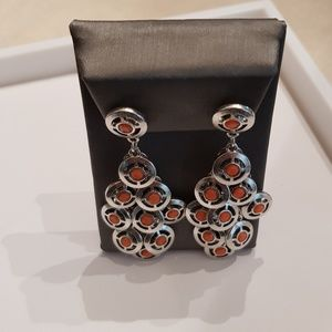 Roberta Chiarella Jewelry - Roberta Chiarella Platinum Plated Coin Earrings